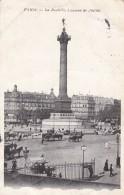 AN92 Paris, La Bastille, Colonne De Juillet - Posted To UK, Postage Due - France