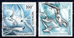 Monaco - YT PA N° 66-67 - Cote: 256,50 € - Poste Aérienne