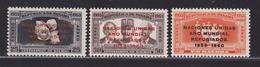 PANAMA AERIENS N°  213 à 215 ** MNH Neufs Sans Charnière, TB (D5276) Année Mondiale Du Réfugié - Panama