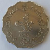 Hong Kong - 2 Dollars 1975 - Elizabeth II - - Hong Kong