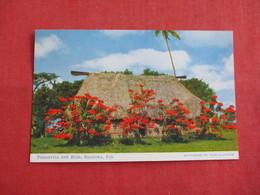 > Fiji Poinsettia &  Bure Sigatoka   Ref 2858 - Fidji