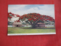 > Fiji Village Scene  Sigatoka River  Ref 2858 - Fiji