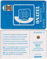 14/ Burkina Fasso; P2. Blue - Logo, 20 Ut.; SC5 SW Afnor, CN 34109 - Burkina Faso