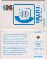 15/ Burkina Fasso; P3. White - Logo, 50 Ut.; SC5 SW Afnor, CN 34113 - Burkina Faso