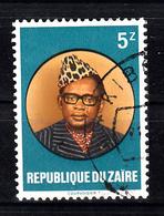 Zaire 1982 Mi Nr 758 President Mobutu - Zaïre