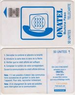 16/ Burkina Fasso; P3. White - Logo, 50 Ut.; SC7 Afnor, CN C37142055 - Burkina Faso