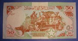 SOMALIA 50 SHILLINGS, 1987 VF+ - Somalië