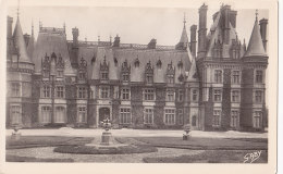 Chateauneuf Du Faou (29) - Château De Trévarez - Façade Principale Sud - France