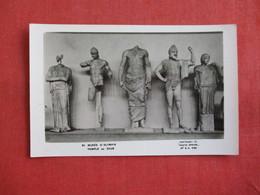 RPPC  Greece  Temple Of Zeus  Museum Items   Ref 2858 - Greece