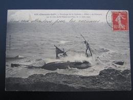 """CPA 17 Naufrage De La Goélette """"Aline"""" De Paimpol Sur La Côte De St Palais Sur Mer Le 11 Juin 1907 - Saint-Palais-sur-Mer"""