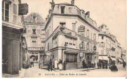 MANTES   Hôtel Du Rocher De Cancale - Mantes La Ville