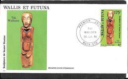 CAD MATA - UTU    WALIS ET FUTUNA - Covers & Documents