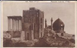 IRAN---RARE--PERSE-ISPHAHAN-aali-kapou--mosquée Impèriale-( D'après Le Dessin De B MOROSOV RUSSIE )--voir  état  2 Scans - Irán