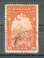 CANADA ; Exprès ; 1927 , Y&T N° 3 ; Oblitéré - Exprès