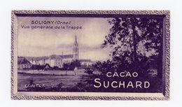 CHOCOLAT SUCHARD - VUES DE FRANCE - 374 - SOLIGNY, VUE GENERALE DE LA TRAPPE (ORNE) - Suchard