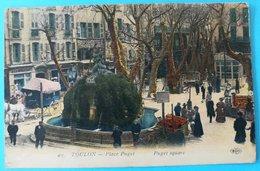 CPA TOULON - Place Puget - Toulon
