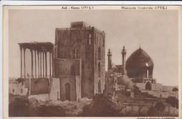 IRAN---RARE--PERSE-ISPHAHAN-aali-kapou--mosquée Impèriale-( D'après Le Dessin De B MOROSOV RUSSIE )-voir  état  2 Scans - Irán