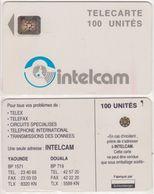30/ Cameroon; P9. Grey - Logo, 100 Ut., SC4 Afnor, Hole 6 Mm, CN 43699 - Kameroen