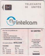 31/ Cameroon; P8. Grey - Logo, 50 Ut., SC5 Afnor, CN 00186 - Cameroon