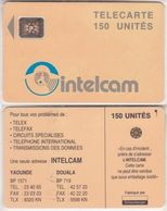 32/ Cameroon; P10. Orange - Logo, 150 Ut., SC4 Afnor, Hole 6 Mm, CN 43686 - Kameroen