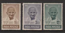 India 1948 Mahatma Gandhi MH - 1947-49 Dominion