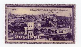 CHOCOLAT SUCHARD - VUES DE FRANCE - 384 - BEAUMONT SUR SARTHE, LA SARTHE (SARTHE) - Suchard