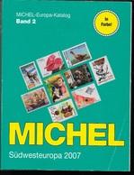 CATALOGO MICHEL - EUROPA OVEST - VOLUME 2 - EDIZIONE 2007 - USATO IN OTTIMO STATO - A COLORI - Germania