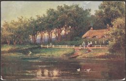 Blackwater Ferry, Near Bournemouth, Hampshire, C.1910 - Kitcher Postcard - England