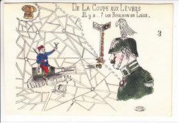 DE LA COUPE AUX LEVRES, IL Y A ? UN BOUCHON EN LIEGE - ILLUSTRATION - N/C - Weltkrieg 1914-18