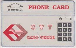 42/ Cape Verde; P1. Logo CTT, CP 304A - Cape Verde
