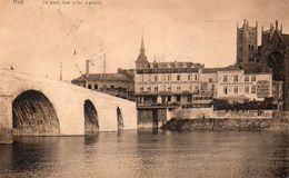 Huy Le Pont Vue Prise D'amont. - Huy