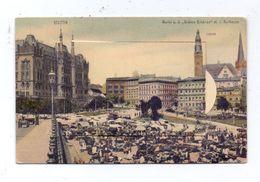 POMMERN - STETTIN / SZCZECIN, Klapp-Leporello, 10 Ansichten - Pommern