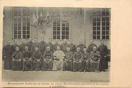 Themes Div - Ref V946- Religion - Christianisme -sacre A Cambrai -nord -mgr Lobbedey -clergé Bourbonnais -allier  - - Christianisme