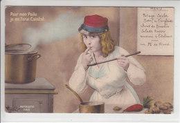 POUR MON POILU, JE ME FERAIS CUISTOT - ILLUSTRATION - NUM 1188 - N/C - Weltkrieg 1914-18