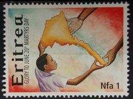 ERITREA MNH GLORY TO 20TH JUNE MARTYRS DAY MICHEL 273 - Eritrea