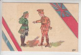 CARTE OFFICIEL - ORPHELINAT DES ARMEES - N/C - ILLUSTRATION - Weltkrieg 1914-18