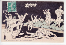 A LA BOITE - ILLUSTRATION - DATE ILLISIBLE - - Weltkrieg 1914-18