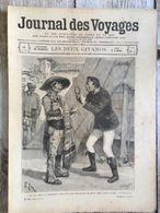 Journal Des Voyages 28 Aout 1898 Souvenirs De Grenade Les Deux Gitanos Gitans - Journaux - Quotidiens
