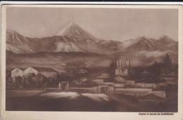 IRAN----PERSE----TEHERAN---( D'après Le Dessin De B MOROSOV RUSSIE )--voir   MOYEN  Taches  2 Scans - Iran