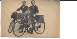 Fietsen, Twee Fransche Wielrijders, Pomar & Bourgier, 1925 - Cartes Postales