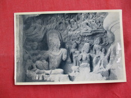 Bombay - Elephanta Caves--- Shiva  & Parvati --- Mailed From Hong Kong - Ref 2858 - India
