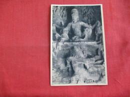 Bombay - Elephanta Caves---Ravana Lifting Kailas--- Mailed From Hong Kong - Ref 2858 - India