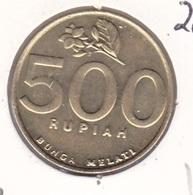 Indonesia - 500 Rupiah 2001 Flower - UNC - Indonesia
