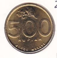 Indonesia - 500 Rupiah 2002 Flower - UNC - Indonesia