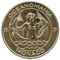 Monnaie De Paris 98. Monaco - Océanomania La Sirène 2014 - Monnaie De Paris