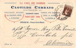 6033 ALESSANDRIA CASALE MONFERRATO CERRATO LA CASA DEI BAMBINI - 1900-44 Vittorio Emanuele III