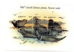 Serie Nº 346/51 Azerbaijan - Mammifères Marins