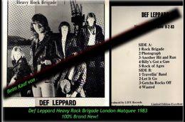Def Leppard - Heavy Rock Brigade London Matquee - Von 1983 -Neue LP - 100 % Brand New -R- - Hard Rock & Metal