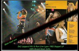 Def Leppard - Hit & Run Live Lyon - Von 1983 -2  Neue LPs - 100 % Brand New -RR- - Hard Rock & Metal