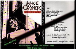 Alice Cooper - Under The Blade - Von 1986 - Neue LP - 100 % Brand New -RR- - Hard Rock & Metal
